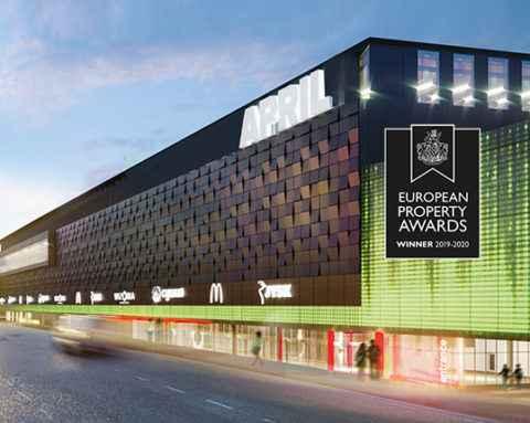 Проект «April City» – победитель премии The European Property Awards 2019-2020